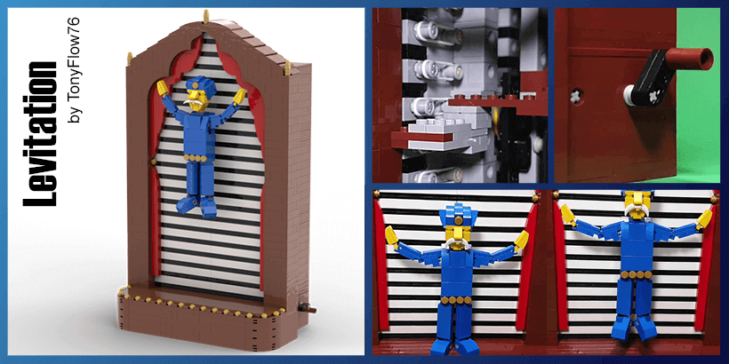LEGO Automaton - Levitation - magic - building instructions and LEGO kit - TonyFlow76 - Planet GBC