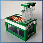 LEGO GBC Module: Split Pump from mickthebricker - LEGO Great Ball Contraption - Planet-GBC