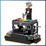 LEGO Automaton: Glockenspiel Automaton from Daniele Benedettelli - LEGO Great Ball Contraption - Planet-GBC