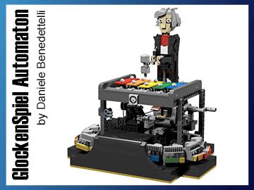 LEGO Automaton - GlockenSpiel - by Daniele Benedettelli - Planet GBC