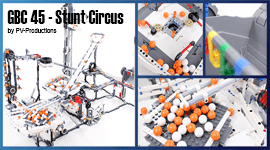 """LEGO GBC 45 - Stunt Circus, by PV-Productions 