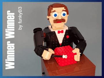 Winner Winner - Chicken Dinner - a LEGO automaton from funkyB3 alias Taylor Heanue | Planet GBC