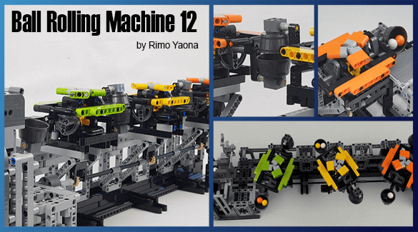LEGO Great Ball Contraption - GBC Ball Rolling Machine 12 - Rimo Yaona - building instructions -Planet GBC