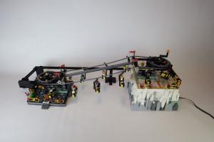 LEGO-Chairlift-GBC-BrickEric-PlanetGBC - LEGO GBC module with pdf building instructions