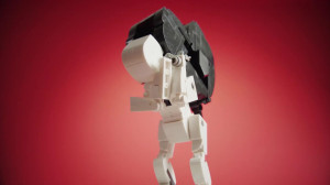 Blackheart Automata   a LEGO brick automaton designed by Evaldas Arlauskas featuring a man and its heart burden   instructions available on Planet GBC