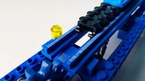 LEGO GBC - Blue Vintage Conveyor Belt - mickthebricker | pdf building instructions available on Planet GBC