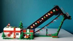 LEGO GBC - Old Chain and Chairs Christmas Conveyor Belt, by mickthebricker | Planet GBC