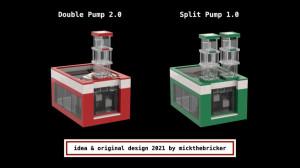 Building instructions to reproduce LEGO GBC - Split Pump, by mickthebricker | Planet GBC