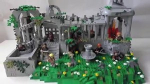 Lego LotR - the unstable ruins (GBC) 034