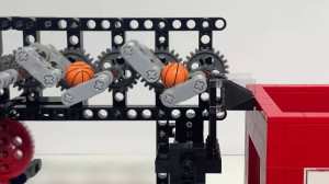 LEGO Great Ball Contraption - Squared, by pinwheel - building instructions available on Planet GBC