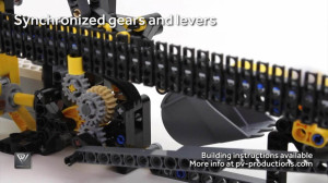 """Reproduce the LEGO GBC Scoop Loup, from PV-Productions, thanks to LEGO building instructions in PDF format 