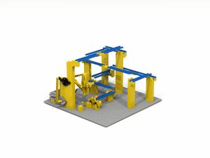 LEGO-GBC-Lift-Module-With-motor