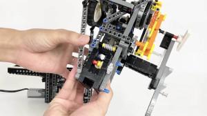 LEGO GBC - OLDHAM COUPLING - Riku Katsumata - Great Ball Contraption