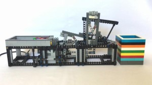 Lego GBC Scissor Lift Module 001