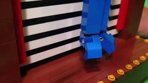 LEGO Automaton - TonyFlow76 - Levitation, a flying Fakir - Planet GBC - building instructions