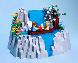 Waterfall Building Instructions - LEGO Automaton -TonyFlow76 - Planet-GBC
